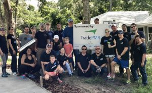 TradePMR Employees at Habitat for Humanity