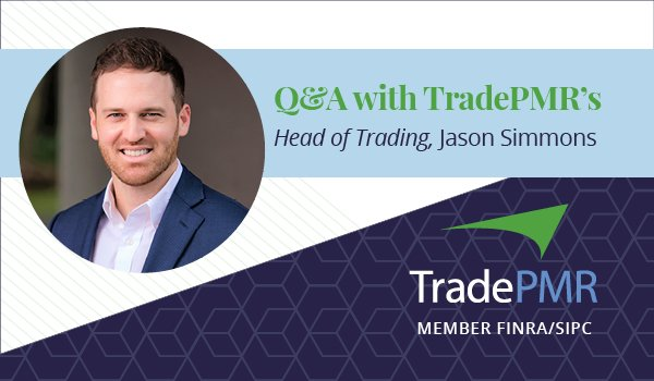 TradePMR's Jason Simmons, Head of Trading.