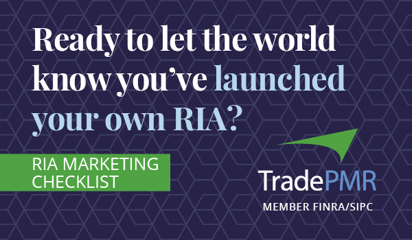 Ready to let the world know you've launched your own RIA?
